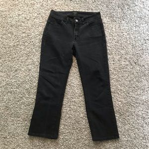 Black Lee Rider Jeans